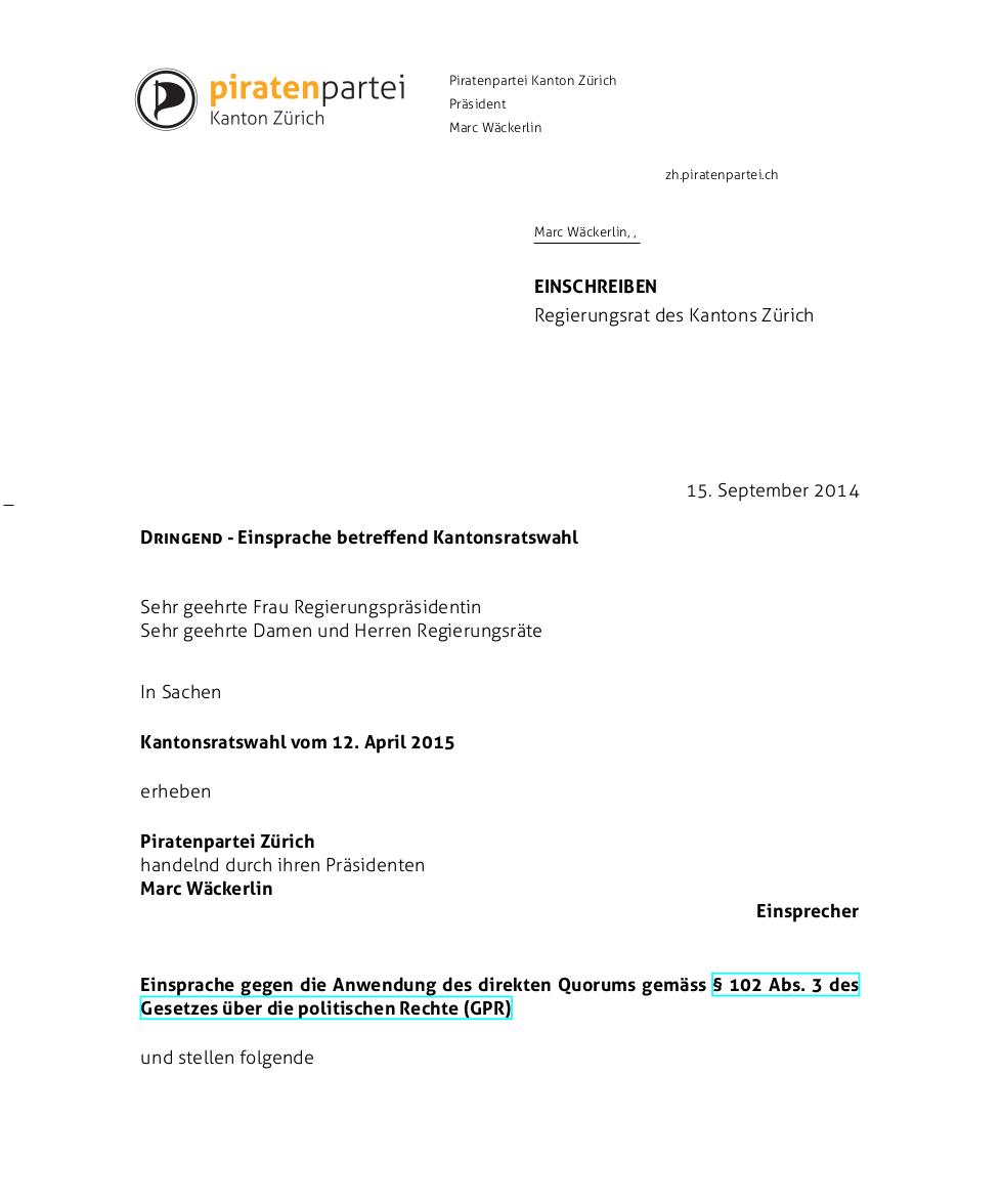 bescherdeschrift-regierungsrat-2015