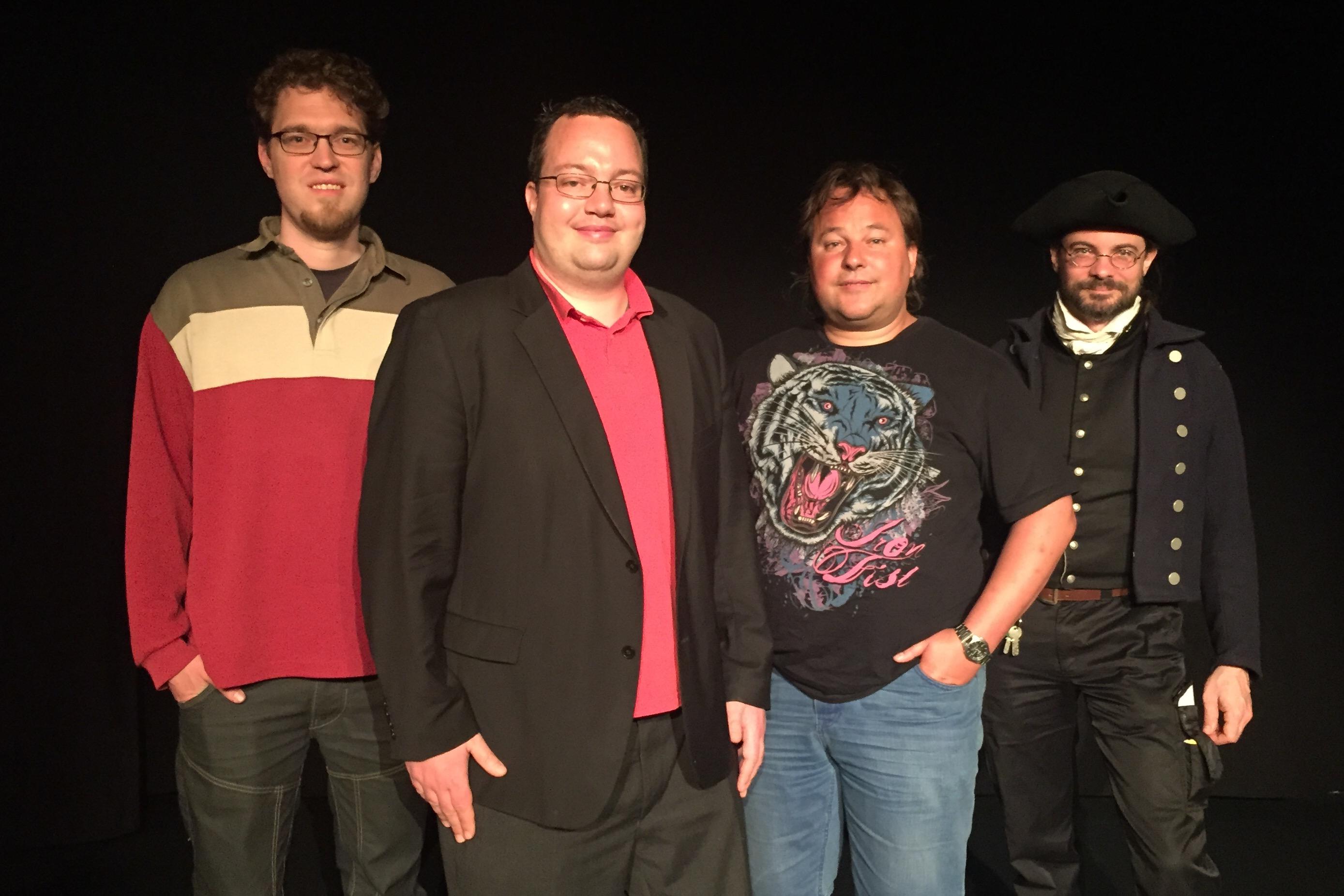 Spitzenkandidaten der Piratenpartei Schweiz für den Nationalrat 2015